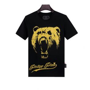 philipp plein t shirt mens sale black bear