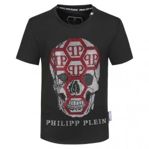 philipp plein t-shirt killer discount many qp red 19443 skull