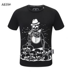 philipp plein tee shirt authentic many skull black