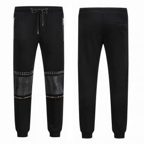 philipp plein trousers france mid leather