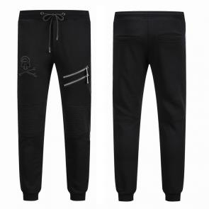 philipp plein trousers france two zipped