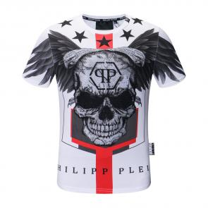 philippe plein t-shirt alec monopoly angel wings edition limitee