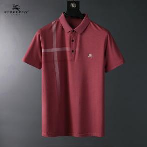 polo burberry limited edition t-shirt button pony red