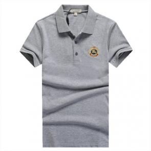 polo burberry limited edition t-shirt rond pony gray