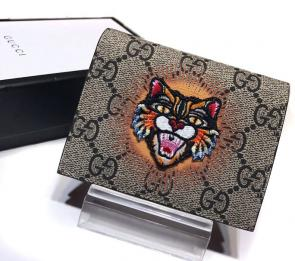 portefeuille gucci homme low price gg card case with embroidery_725