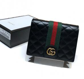 portefeuille gucci homme low price leather card case with double g