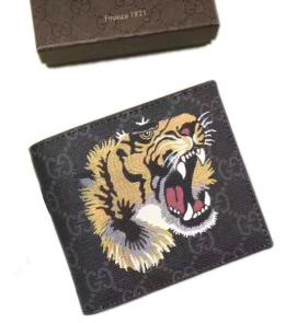 portefeuille gucci homme low price tiger print gg supreme-906