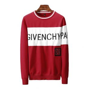 pull givenchy singe cachemire red