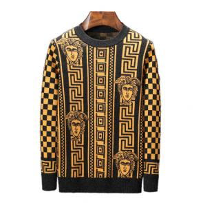 pull versace baroque laine or