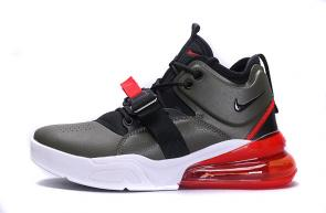 chaussures nike air force 270 basketball army green