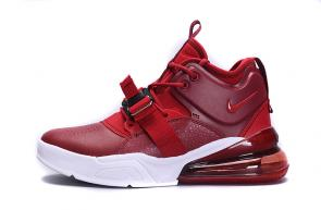 chaussures nike air force 270 basketball fire red