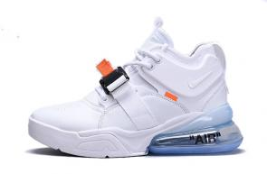 chaussures nike air force 270 basketball ice white