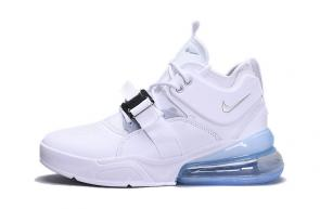 chaussures nike air force 270 basketball leather white