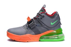 chaussures nike air force 270 basketball orange mix