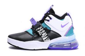chaussures nike air force 270 basketball purple mix