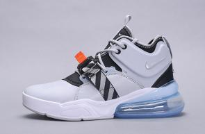 chaussures nike air force 270 basketball zebra gray