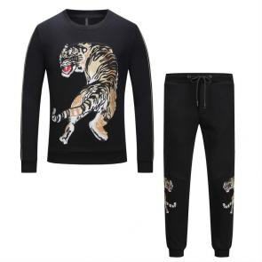 sport philipp plein jogging hot drill tiger