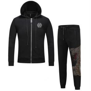 sport philipp plein jogging hoodie hot drill snake