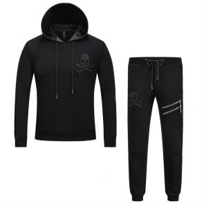 sport philipp plein jogging hoodie two piece jacket