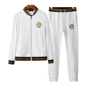 sport survetement versace pas cher cotton white medusa