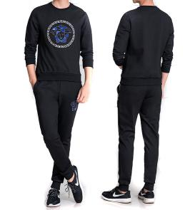 sport survetement versace pas cher sweat cotton