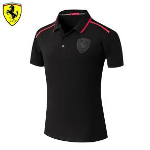 t shirt ferrari homme pas cher back stripe black