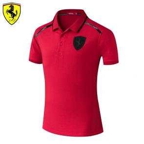 t shirt ferrari homme pas cher back stripe red