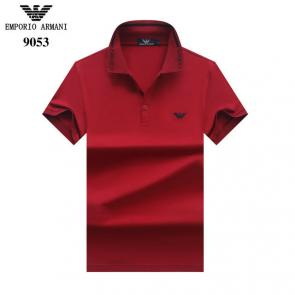 tee shirt emporio armani pour homme nouvelle collection polo ga9054 red