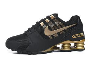 tenis nike shox nz zoom avenive nz2 gold black