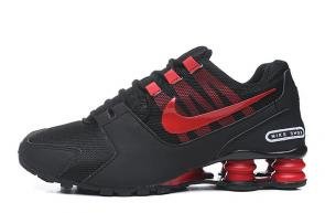 tenis nike shox nz zoom avenive nz2 red noir