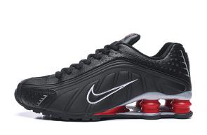 trainers nike shox r4 men shoes rival black red