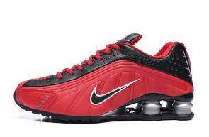 trainers nike shox r4 men shoes rival fire red