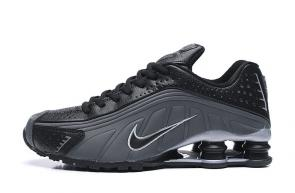 trainers nike shox r4 men shoes rival gray black