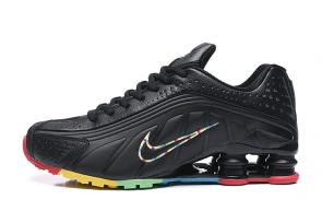trainers nike shox r4 men shoes rival rainbow