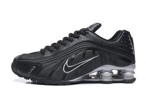 trainers nike shox r4 men shoes rival silver black