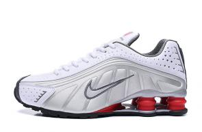 trainers nike shox r4 men shoes rival white zoom