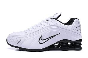 trainers nike shox r4 men shoes rival white