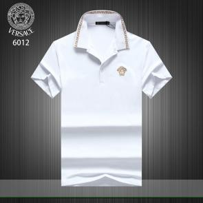 versace t-shirt cheap collection v6012 broderie medusa blanc
