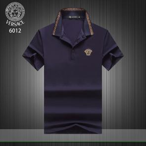 versace t-shirt cheap collection v6012 medusa blue