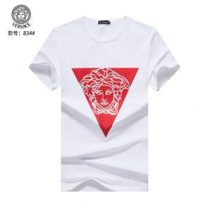 versace t-shirt color boy badge triangle medusa