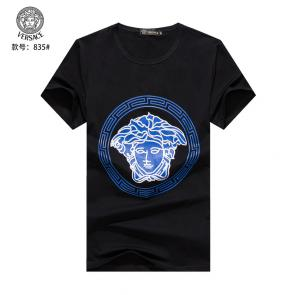 versace t-shirt color boy classic round medusa cotton