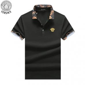 versace tee shirt prices promotions flower top black