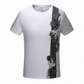 versace tee shirt prices promotions side flower