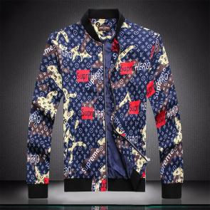 jacket capuche embroidered louis vuitton supreme hero