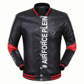jacket philipp plein women man leather bomber airforce plein