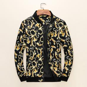 jacket versace classic v2 classic flower