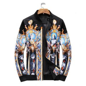 jacket versace homme pas cher gold