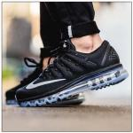2016 printemps shoes nike air max 2016 sports women gris fonce noir