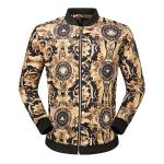 2017 tendance versace jackets de slim flower et header