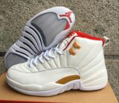 air jordan 12 retro aj 12 taxi red gold